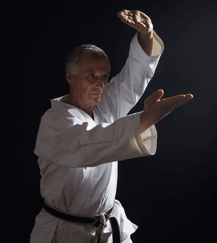 Martial Arts Lessons for Adults in Vista CA - Older Man