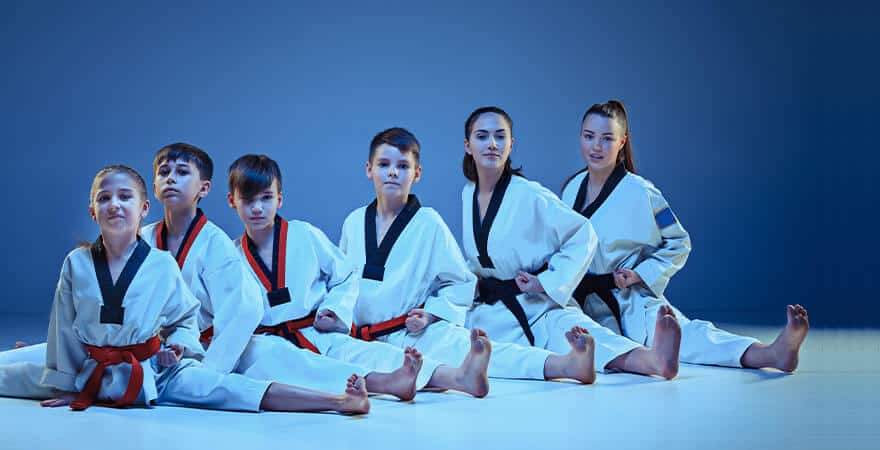Martial Arts Lessons for Kids in Vista CA - Kids Group Splits