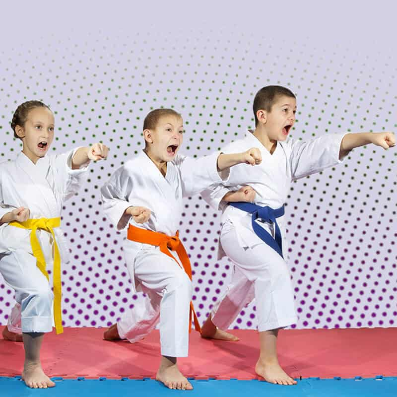 Martial Arts Lessons for Kids in Vista CA - Punching Focus Kids Sync