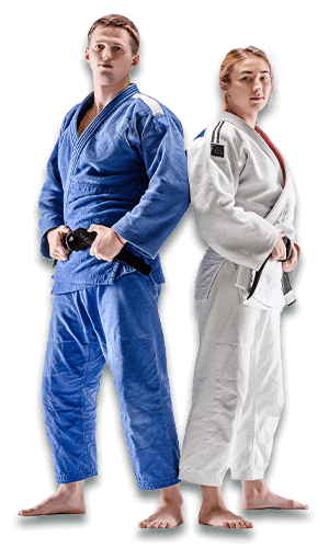 Brazilian Jiu Jitsu Lessons for Adults in Vista CA - BJJ Man and Woman Banner Page