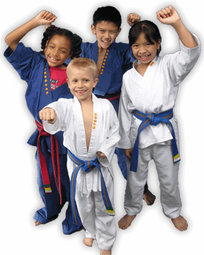 Martial Arts Summer Camp for Kids in Vista CA - Happy Group of Kids Banner Summer Camp Page